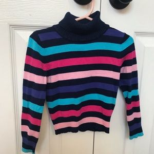 Girl Color Striped Long Sleeves!